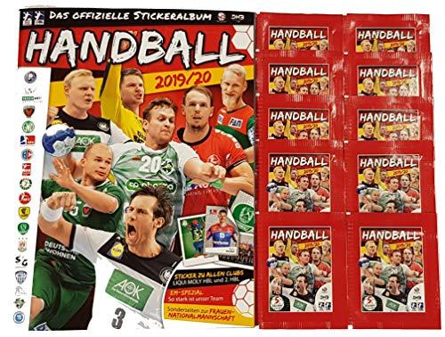 Victus Blue Ocean Handball Sticker Saison 2019/20 Stickeralbum + 10 Stickertüten