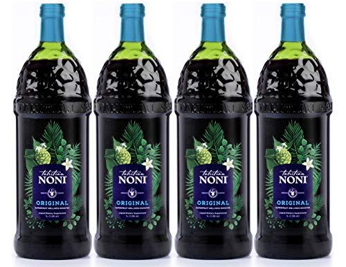 The Original Authentic TAHITIAN NONI Juice by Morinda (4PK Case), 1...