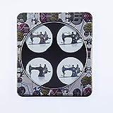 Exclusivo de Amazon. 4unidades Vintage máquina de coser costura patrón pesos Set de regalo. Inspirado en la BBC costura abeja.