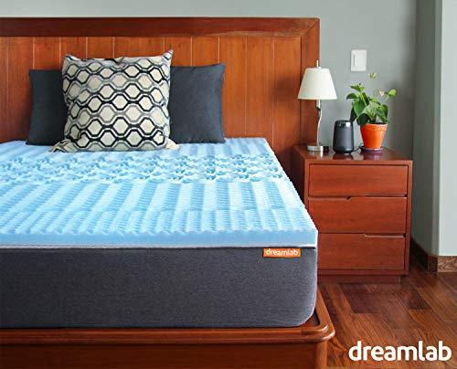 Dreamlab Topper 5cm Memory Foam 5 Zonas (Gel, Matrimonial)