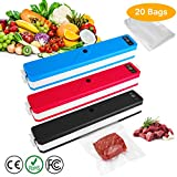 L.Home Food Vacuum Sealer One-Touch Automatic Vacuum Sealing Machine for Dry and Moist