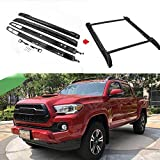 Tuntrol Roof Rack Cross Bars Set Fit for 2005-2019 Toyota TacomaDouble Cab Luggage Carrier Roof Rail Crossbars