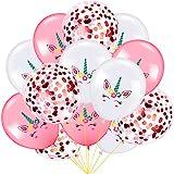 60 Stücke Einhorn Luftballons