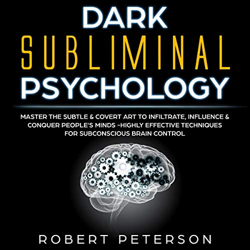Dark Subliminal Psychology audiobook cover art