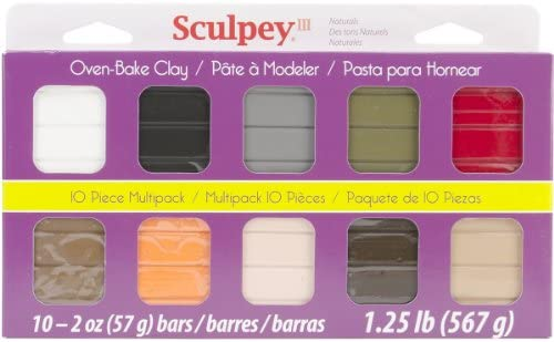 Sculpey S3MP 00001 Classic Collection III Multipack, 1-Pack