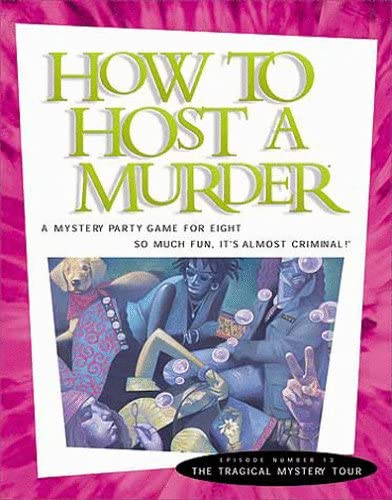 How New Free Shipping to Host a Murder: The Tragical Mystery Tour Import
