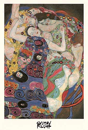 Gustav Klimt Kunstkarten Set 3 Motive Lebensbaum Der Kuss Die Jungfrau Klappkarte Künstler