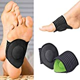 CHANCY Pack of 2 Foot Care Arch Support Sleeve Cushion Heel Support Neuromas