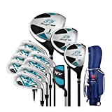 Golf Clubs Complete Set for Men 13 Piece Includes Titanium Golf Driver, 3 & #5 Fairway Woods, 4-SW...