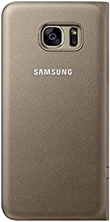 Samsung Galaxy S7 Edge LED View Flip Cover - Gold