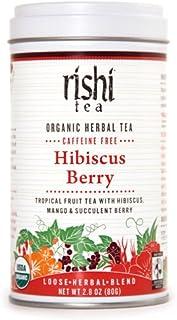 Rishi Tea Organic Hibiscus Berry Tea, 80-Gram