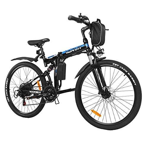 VARUN Klappbar E-Bike, Damen Herren 26...