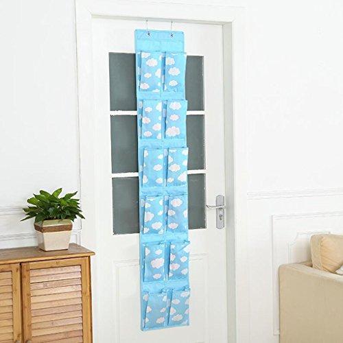 Sacs de rangement Xuan - Worth Another Suspendue sur la Porte du Sac Derrière Le Sac de Porte Mural Sac fourre-Tout (Couleur : B)