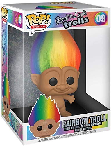 Funko Trolls Classic POP! Trolls Rainbow Troll 10-Inch Vinyl Figure [Regular Version, Super-Sized]