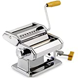 Pasta Maker Kitchen Tool Spaghetti Roller Lasagne Tagliatelle Cutter Stainless Steel Machine Manual Gadget