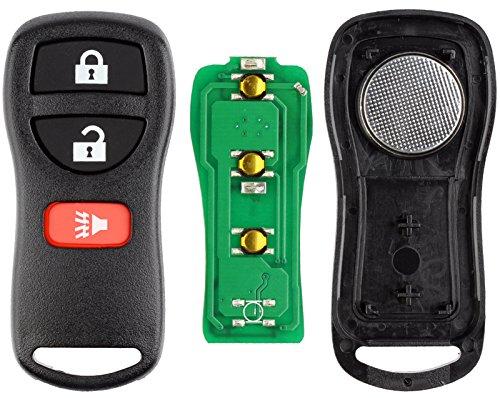 KeylessOption Keyless Entry Remote Control Car Key Fob Replacement for KBRASTU15, CWTWB1U733 (Pack of 2)