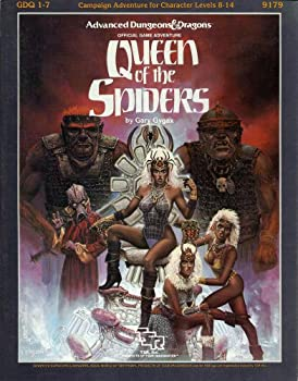 Queen of the Spiders (Supermodule GDQ1-7) (Advanced Dungeons & Dragons) - Book  of the Advanced Dungeons and Dragons Module #C4