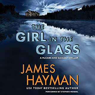The Girl in the Glass audiobook cover art