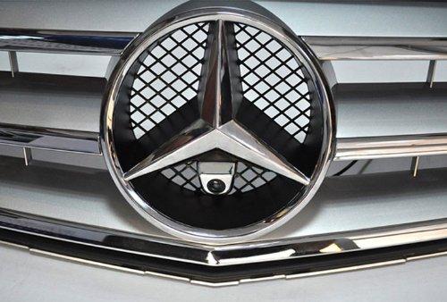 XCarlink Camara Frontal para Mercedes en Cromo - Optica- Perfecta y Discretamente...