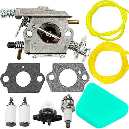 Mckin WT-324 Carburetor for Poulan 2150 1950 2050 2375 Wild Thing Chainsaw Replace 2375LE C1U-W8 C1U-W14 WT-891 WT-324 545081885 530069703
