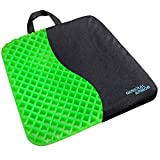 GENERAL ARMOR Gel Seat Cushion - Orthopedic Design to Relieve Back, Sciatica