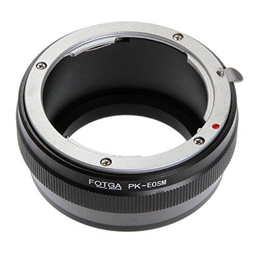 Adaptador de montura de lente para Pentax K/PK a Canon EOS M EF-M M2 M3 M5 M6 M10 M50 M100 Mirrorless Camera Adapter Ring