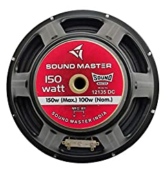 sound master HI FI Sound Master 35 Year Old Company Regd no 438249.B 12inch woofer 135mm Magnet Very Crystal Clear Sound Pure Copper Captain Coil and Jupiter Paper Cone,sound master,W12135