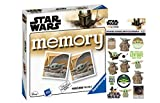 Star Wars The Mandalorian Memory® con imágenes de Baby Yoda + 1 adhesivo de mandaloriano de Star Wars