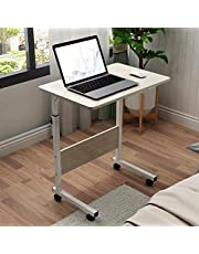 sogesfurniture Mobile Side Table Portable Laptop Computer Stand Desk for Bed Sofa BHCA-05#1