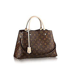 Fashion Shopping Louis Vuitton Montaigne MM Monogram Handbag Article: M41056 Made in France