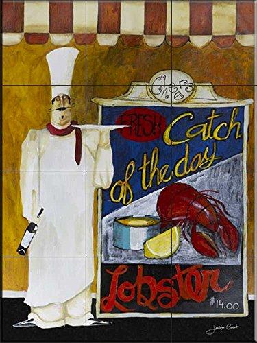Fliesenwandbild - Fang des Day- von Jennifer Garant - Küche Aufkantung/Bad Dusche