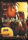 BOB MARLEY POSTERFLAGGE FAHNE FAHNE WHEN YOU SMOKE