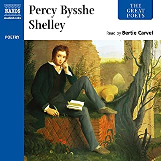 The Great Poets: Percy Bysshe Shelley audiobook cover art