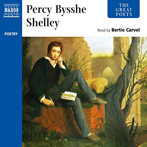The Great Poets: Percy Bysshe Shelley cover art