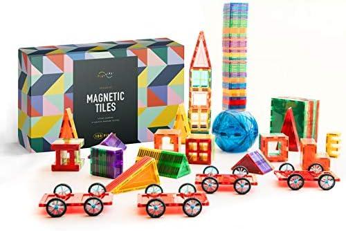 180 PCS 3D Magnetic Blocks Magnetic Tiles Magnet Building Tiles Magnetic Tiles Building Set product image