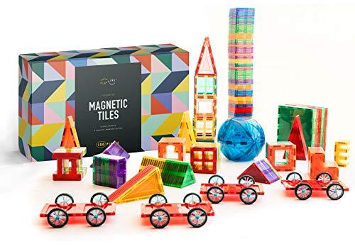 180 PCS 3D Magnetic Blocks Magnetic Tiles - Magnet Building Tiles | Magnetic Tiles Building Set For Kids | Magnetic Building Blocks | Kids Magnets For Kids | Magnetic Tiles For Kids | Magna t Blocks
