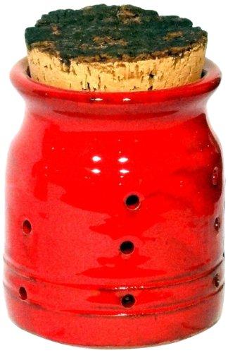 Amazing Cookware Vaso per Aglio Terracotta - Rosso