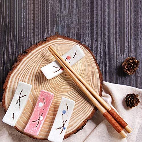 FuliLie箸置き和柄はしおき和食器舟形はし置きカトラリーレスト4個セット(舟形)
