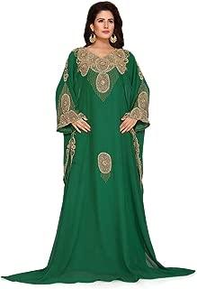 Arabic attire Women's Heavy Farasha Dress for Party