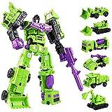 Transformer Toys Generations Combiner Wars Devastator 6 in 1 Truck Model KO Version Action Figure for Boys Gift