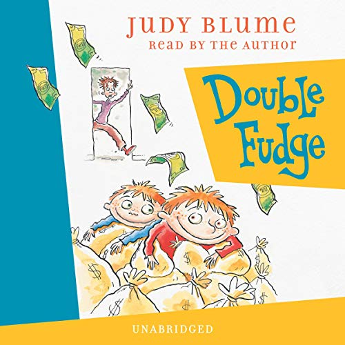 Double Fudge audiobook cover art