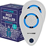 BRISON Ultrasonic Pest Repellent Plug in – Mice Rats Spider Control - for Repelling Rodents &...