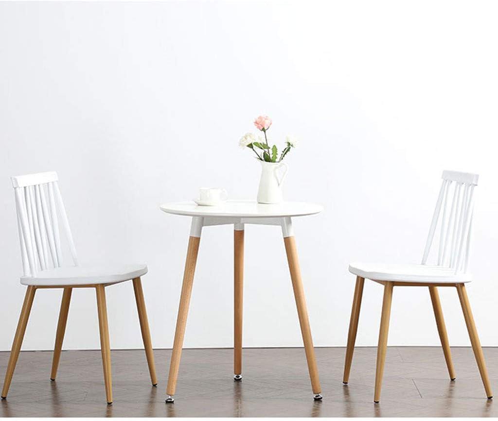 SLL- Chaise en Plastique de Bureau de Loisirs de Tabouret de Dossier de ménage Minimaliste Moderne de Chaise Moderne (Color : E) C