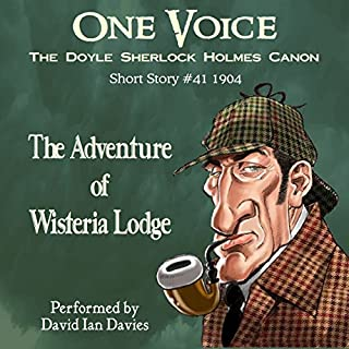 The Adventure of Wisteria Lodge cover art
