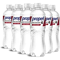 12-Pack Propel Black Cherry Zero Calorie Water Beverage with Electrolytes & Vitamins C&E, 24 Fl Oz