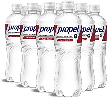 12-Pack Propel Black Cherry Zero Calorie Water Beverage