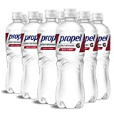Propel, Black Cherry, Zero Calorie Water Beverage with Electrolytes & Vitamins C&E, 24 Fl Oz (Pack of 12)