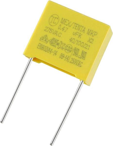 CONDENSATEUR MEX TENTA MKP polypropylène 0,022uF 22nF K X2 275V 40//100//21