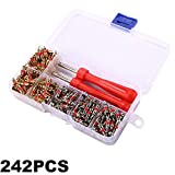 242x set R134A Valve Cores + Remover Tool Kit For Car A C Air Conditing Nice