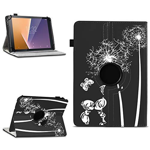 na-commerce Tablet Schutzhülle Vodafone Tab Prime 6/7 360° drehbar Tasche Cover Hülle Etui, Farben:Motiv 12